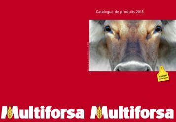 Catalogue de produits 2013 - Multiforsa AG, Steinhausen