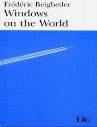 Windows on the World Frédéric Beigbeder - Y'Books