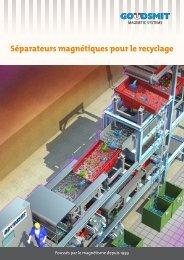 Séparateurs magnétiques pour le recyclage - Goudsmit Magnetics