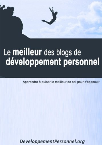 Developpement person.. - Développement personnel