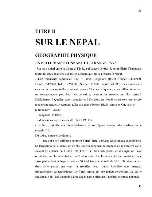 sur les mots guerre civile au nepal - Népal Sherpa Sig