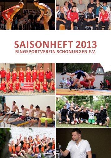 SAISONHEFT 2013