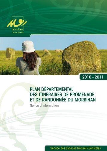 Plan déPartemental des itinéraires de Promenade et de randonnée ...