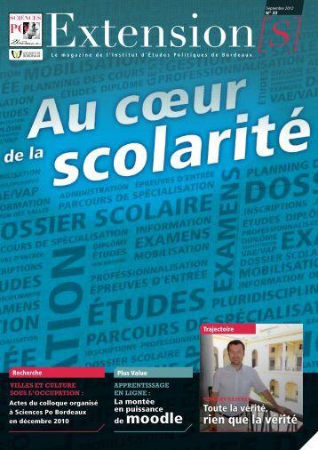Extension[S] n°33 - Sciences Po Bordeaux