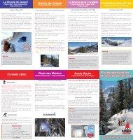 Promenades piétons Itinéraires Ski de fond - La Plagne