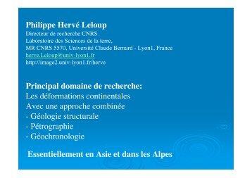 Version pdf (5.1Mo) - Laboratoire de Géologie de Lyon, Terre ...