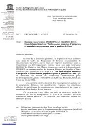 (MASHAV) 2012 - Unesco