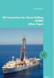 ECOD white paper - European Science Foundation