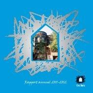 Rapport annuel 2011-2012 - Chez Doris