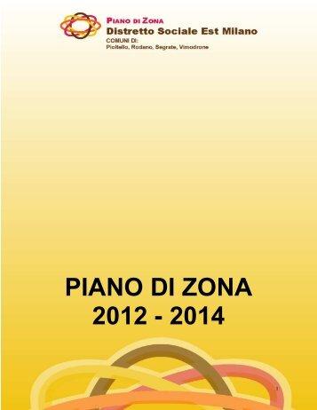 PdZ 2012-14 DEFINITIVO - Provincia di Milano