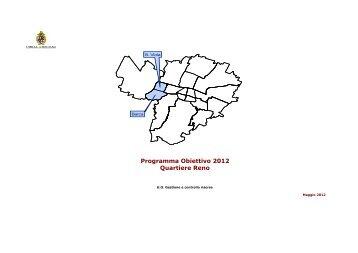 Programma Obiettivo 2012 Quartiere Reno - Comune di Bologna