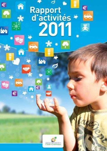 rapport activites 2011 - Communauté de communes de l'Isle Crémieu