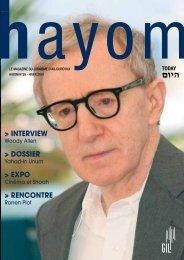 Hayom 38 - Communauté Israélite Libérale de Genève
