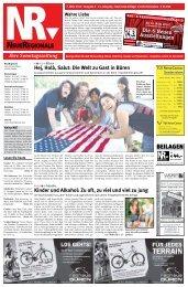 Ihre Sonntagszeitung Hej, Holà, Salut: Die Welt ... - Neue Regionale