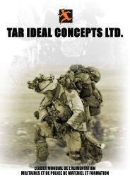 TAR IDEAL CONCEPTS LTD.