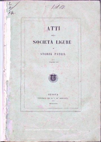 Società Ligure di Storia Patria