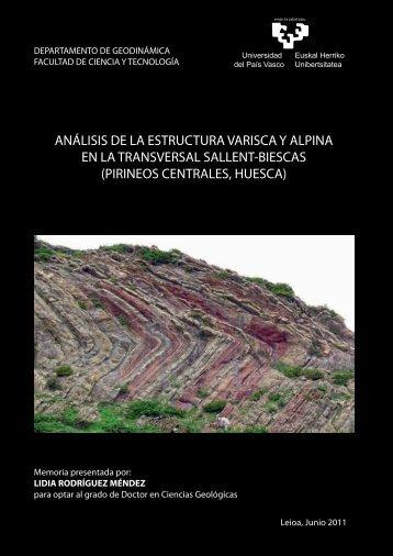 pirineos centrales, huesca - Euskal Herriko Unibertsitatea