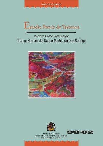 98-02 Herrera del Duque-Puebla de D. Rodrigo - Ministerio de ...