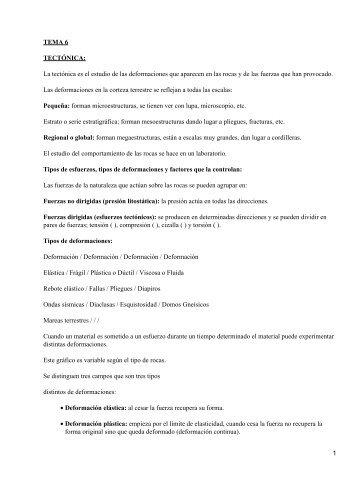 TEMA 6 TECTÓNICA - Mundodescargas.com