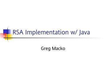 rsa algorithm.doc - 123SeminarsOnly