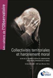 Collectivités territoriales et harcèlement moral - Observatoire Smacl ...