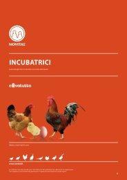 Scarica il catalogo Incubatrici 2011 (PDF) - Novital