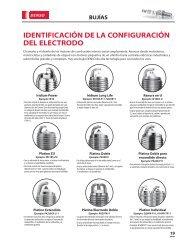 identificación de la configuración del electrodo - Denso