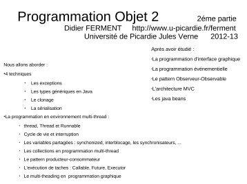 Cours en pdf - Université de Picardie Jules Verne
