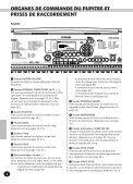 1 Choisissez le mode Function. - Yamaha - Page 6