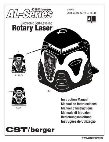dewalt dw077 rotary laser manual