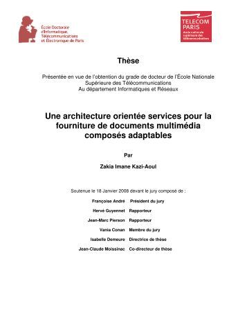 Chapitre 3 composition d for Architecture orientee service
