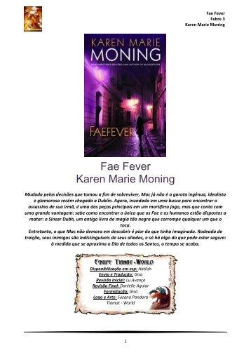 Fae Fever Karen Marie Moning - CloudMe