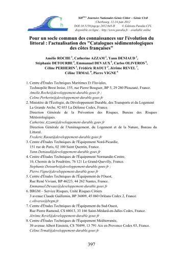 Catalogues sédimentologiques - Editions Paralia