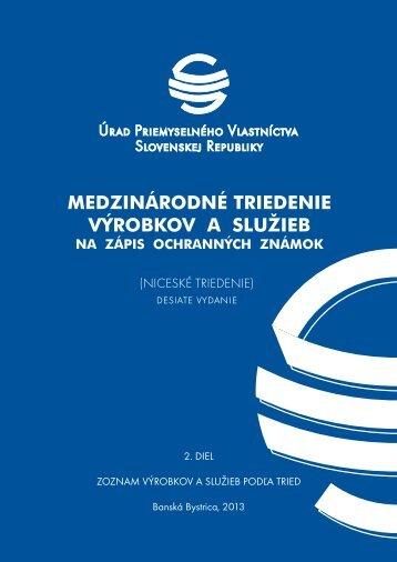 desiate vydanie - Úrad priemyselného vlastníctva SR