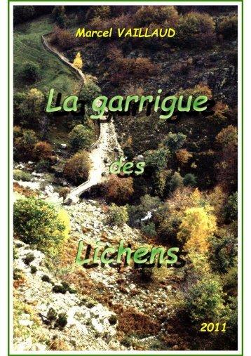Lichens - La Garrigue Botanique