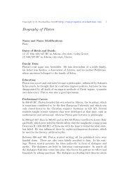 Biography of Platon