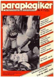 Paraplegiker 4/1985