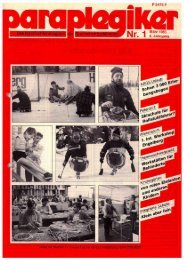 Paraplegiker 1/1985