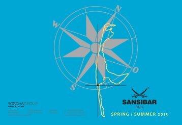 SPRING / SUMMER 2013