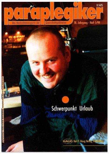 Paraplegiker 1/1999