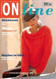 Herbst / Winter 2008 - Strick gibt den Ton an - Weiger