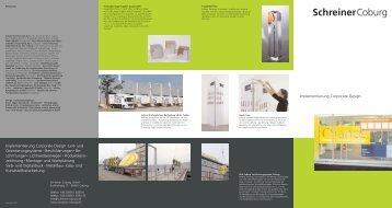 Implementierung Corporate Design ... - schreiner coburg