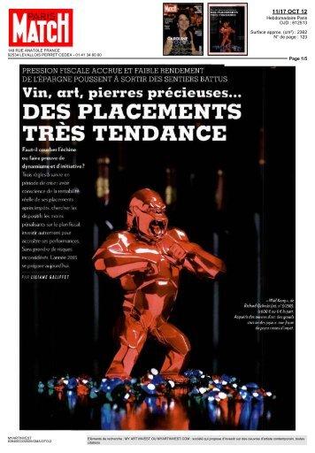 DES PLACEMENTS TRÈS TENDANCE - Katabox