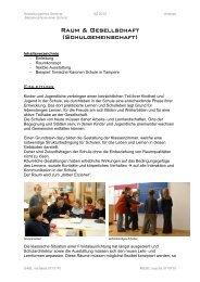 Raum & Gesellschaft (Schulgemeinschaft)