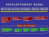 Le dispositif institutionnel et réglementaire - Le Projet de Proximité ...