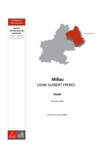Usine Guibert frères (PDF - 535.79Ko) - Le patrimoine de Midi ...