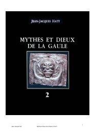 Jean Jacques hatt Mythes et dieux de la Gaule ... - Index of - Free