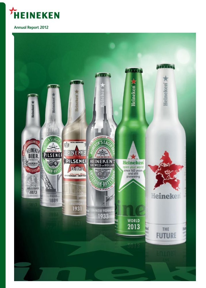 heineken marketing report 2009 Heineken holding nv annual report 2009 heineken holding nv at a year-end price of €3327 on 31 december 2009, the market capitalisation of heineken.
