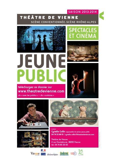 SPECTACLES ET CINÉMA - Théâtre de Vienne