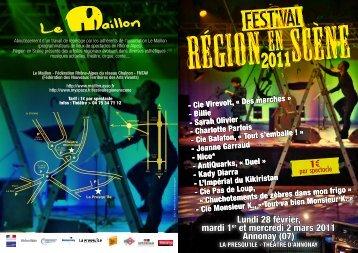 programme - Le Maillon